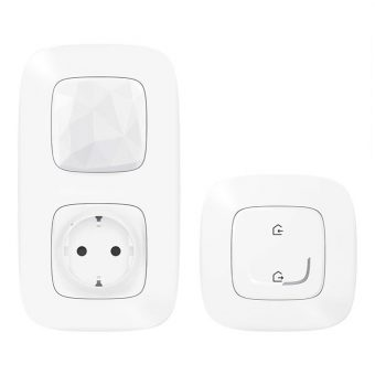 Стартовый Smart комплект умного дома Legrand Valena Allure with NETATMO 752596, белый