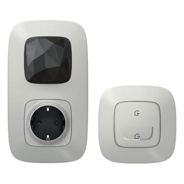 Стартовый Smart комплект умного дома Legrand Valena Allure with NETATMO 752796, алюминий