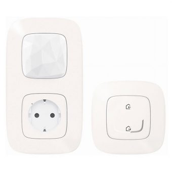 Стартовый Smart комплект умного дома Legrand Valena Allure with NETATMO 752996, жемчуг